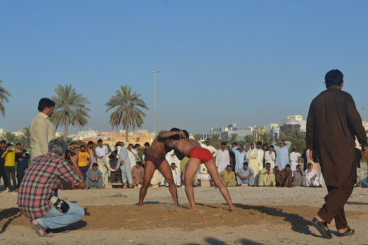 fitness South Asia wrestlers