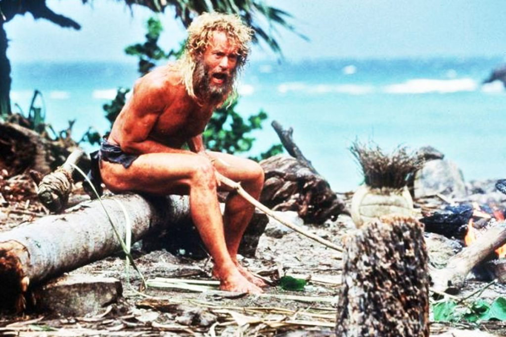 cast away, survival movies, free range american