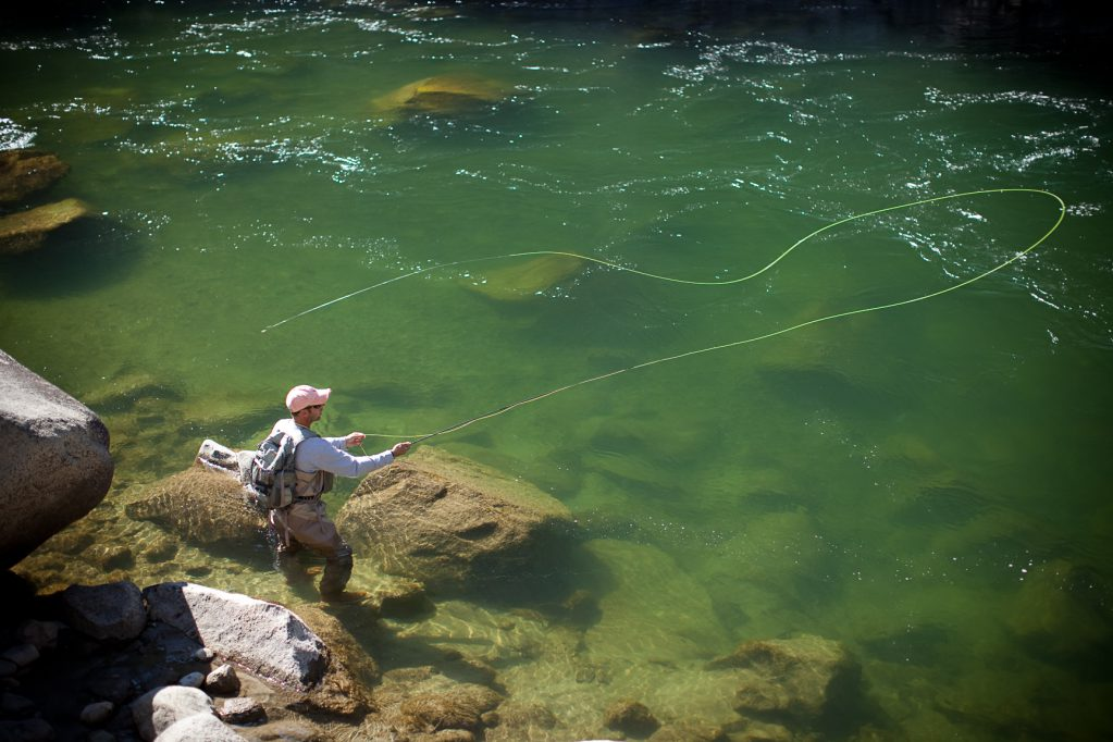 learning to fly fish, starter kit gear