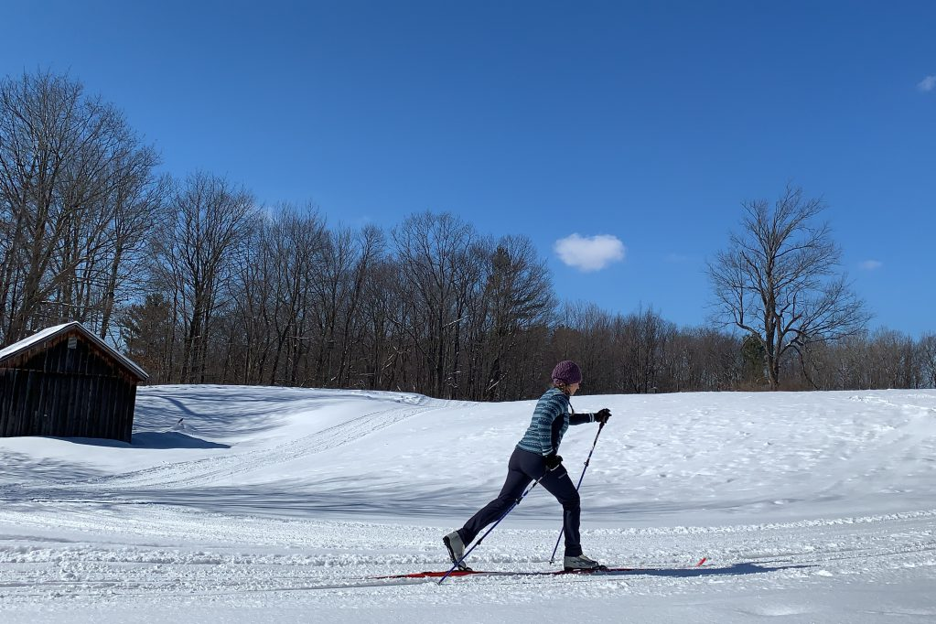 Learn how to cross country ski then get out and explore